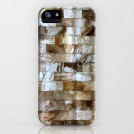 Bricks of Salted Pink iPhone Case