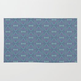 Blue Patch Rug