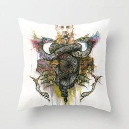 The Antagonist Throw Pillow