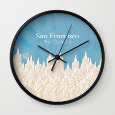 San Francisco TA Wall Clock