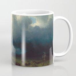Albert Bierstadt - Buffalo Trail, The Impending Storm (1869) Coffee Mug