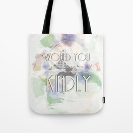 Would You Kindly - Bioshock Tote Bag