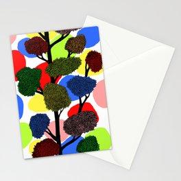 Happy tree Stationery Cards