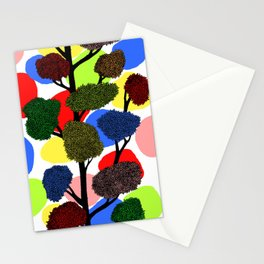 Happy tree Stationery Cards