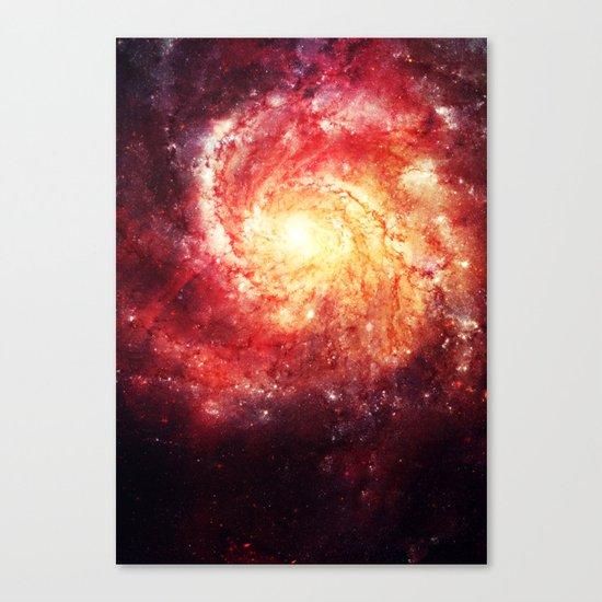 The galaxy that didn't exist! Canvas Print