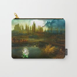 Landscape of Skyrim Carry-All Pouch
