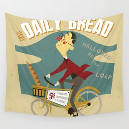 His Daily Bread Wall Tapestry