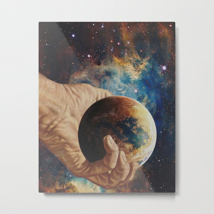 In Good Hands Metal Print
