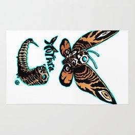Mothra Kaiju Print FC Rug