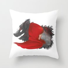 Red Riding Hood Throw Pillow