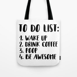 The To-Do List Tote Bag
