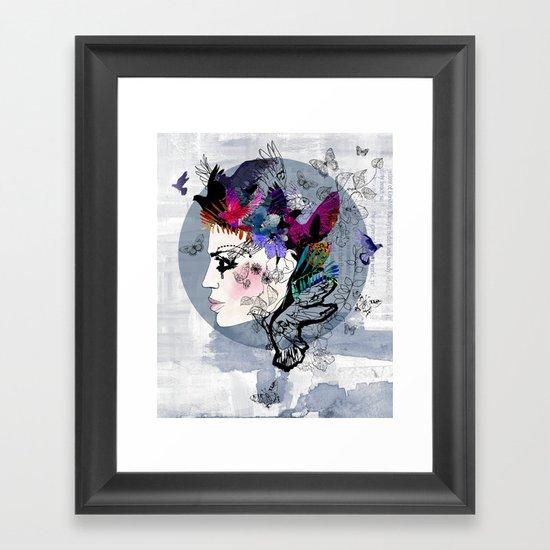 Estrella Framed Art Print