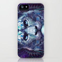 Snow Leopard Late Night iPhone Case