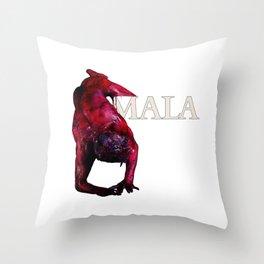 Horror Icon Bill Oberst Jr. Red Devil Latin Throw Pillow