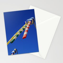 Flying Wind Socks and Blue Sky Stationery Cards