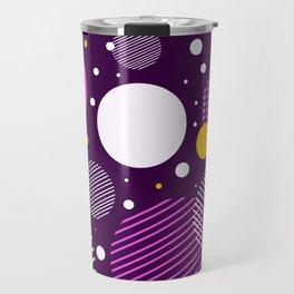Circle dot pattern Travel Mug