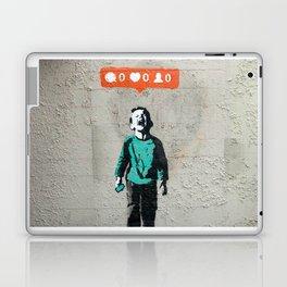 Banksy, social life, likes Laptop & iPad Skin