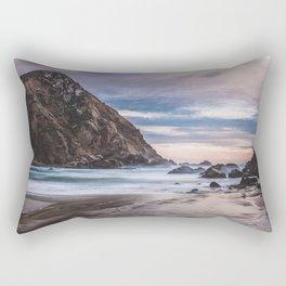The Ocean Stirs The Heart Rectangular Pillow