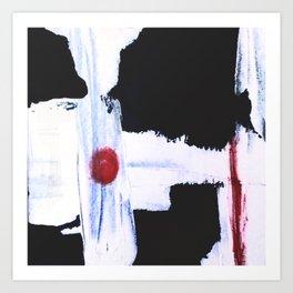 Between a Bullet and a Target Art Print