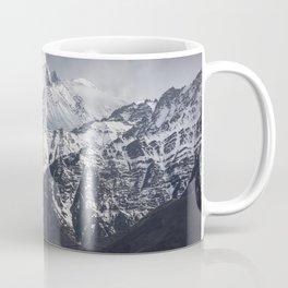 mountain with blue sky background Coffee Mug