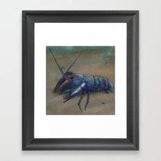 Yabby Framed Art Print