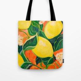 Luscious Lemons Tote Bag