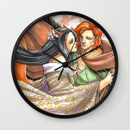 Charmed by the Ginger Wall Clock