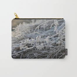 Frosted Carry-All Pouch