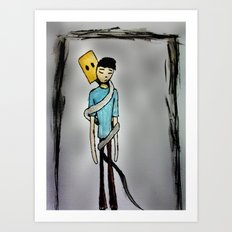 Insecurity.  Art Print
