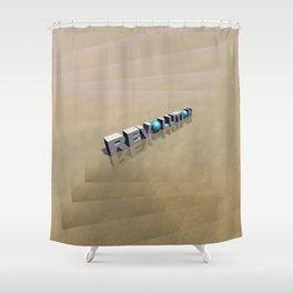Revolution in 3D Shower Curtain