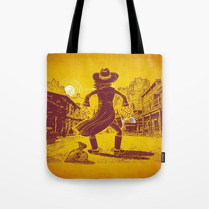 The Last Showdown - The bad guy Tote Bag
