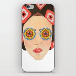 Sana'a chick iPhone Skin