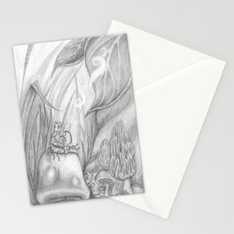 Hookah Caterpillar Stationery Cards