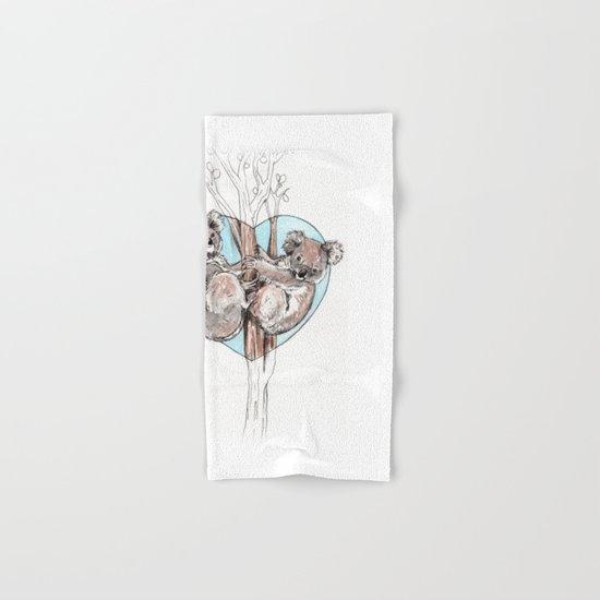koala love Hand & Bath Towel