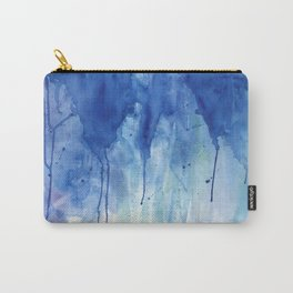 Crackling blue Carry-All Pouch