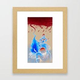 Crow Magic Framed Art Print