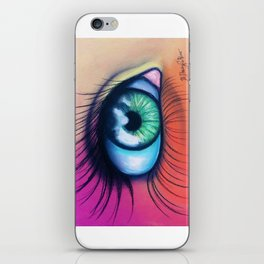 Kaleidoscopic Vision iPhone Skin