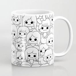 more faces never met Coffee Mug