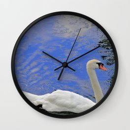 Swan Life Wall Clock