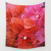 flora Wall Tapestries featuring Flora by Kakel-photography