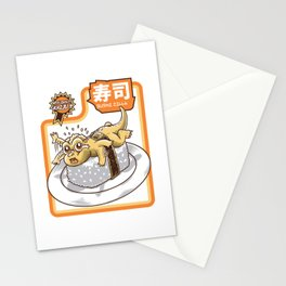 little sushi dragon Stationery Cards