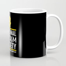 National Sarcasm Society - Funny Wordplay Punny Meme Illustration Coffee Mug