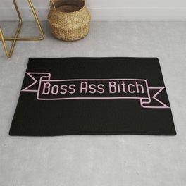 Boss Ass Bitch Rug
