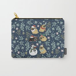 Christmas Pugs Carry-All Pouch