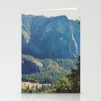 yosemite Stationery Cards featuring yosemite by anjastensrud