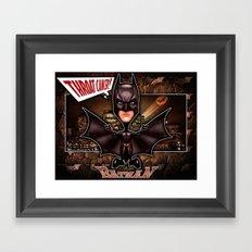The Dark Knight concept! Framed Art Print