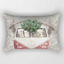 ALPACA ALPACA ALPACA - NEVER STOP EXPLORING - X-MAS Rectangular Pillow