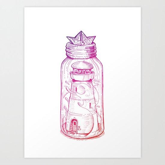 Little Light House Art Print