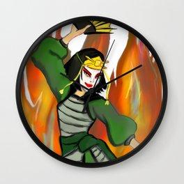 Kioshi Warrior Fanart Wall Clock