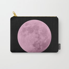 PINK MOON // BLACK SKY Carry-All Pouch